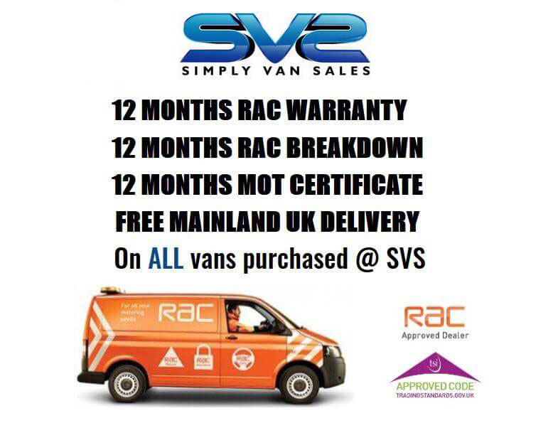 Used Vans For Sale In Irlam Greater Manchester Simply Van